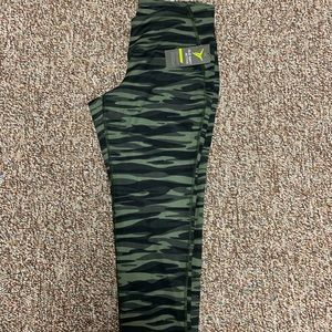 Old navy camouflage workout pants